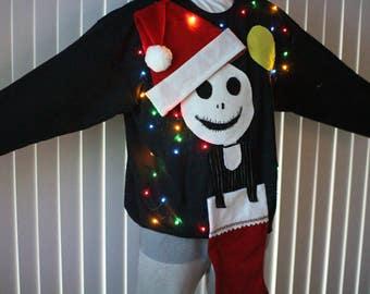 Ugly Christmas Sweatshirt Women Naughty Ho Mrs Claus Funny Etsy