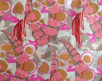 Troy Gardens-Pink  by Tina Givens, Piecemeal collection.  1 yard