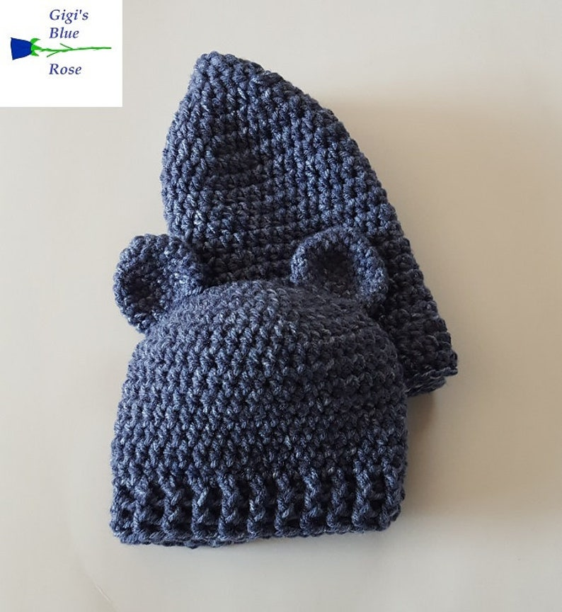 Mommy and MeDaddy and MeCrochet BeaniesAdult Beanie and Baby Bear BeanieReady to Ship