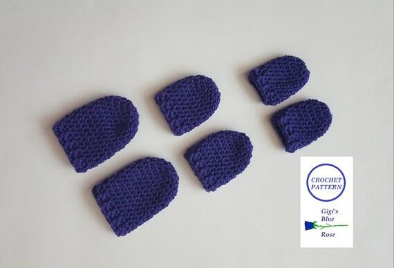 Crochet Patterncrochet Baby Mittens Patternpdf Pattern Etsy