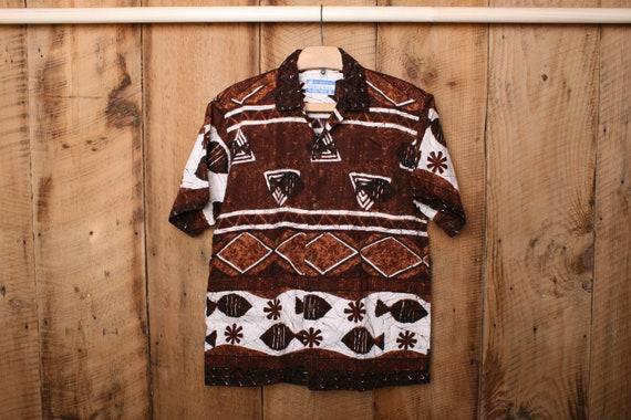 Men's Medium Short | Vintage WALTAH CLARKE Brown F
