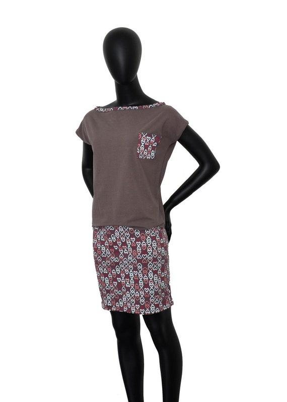 Fabian Iza Dress Heart taupe women FX20 Pg7pxqwF