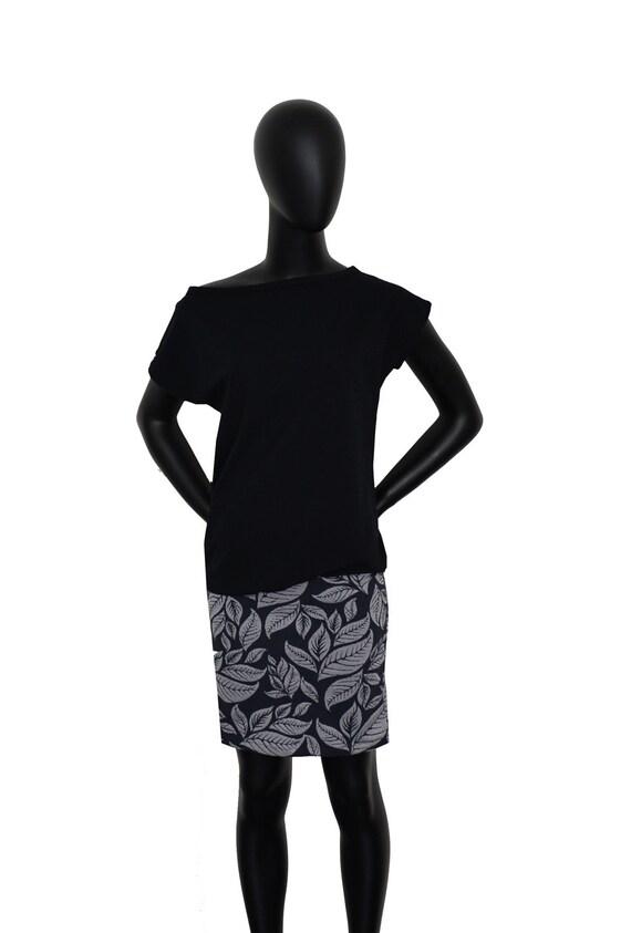 Grey FX23 Dress Black Fabian flowers Iza X1gqPg