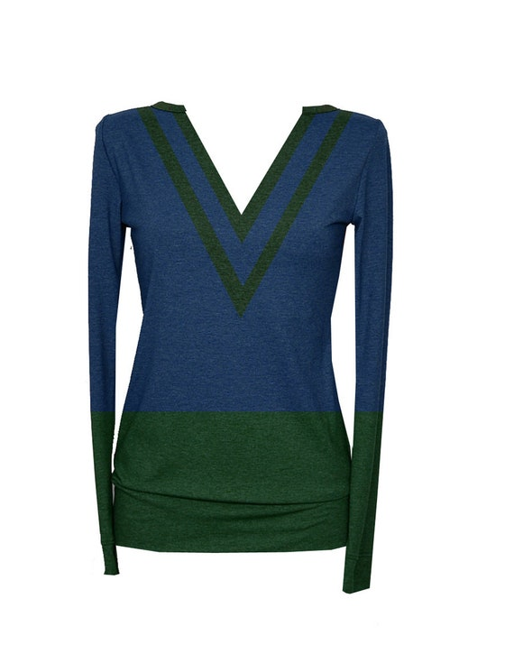 FabianLongsleeve long Iza Blue Green sleeve Shirt BLUE1 FaAAZqwg