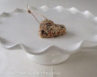 25 Natural, Vegan, Handmade Hanging Bird Seed Favours