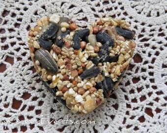 250 Natural, Vegan, Handmade Hanging Bird Seed Favours