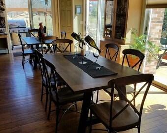 Farm Table, Dinning Table, Rustic Farm Table