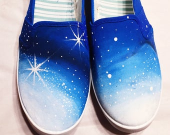 Galaxy 2.0 Hand-Painted Shoes