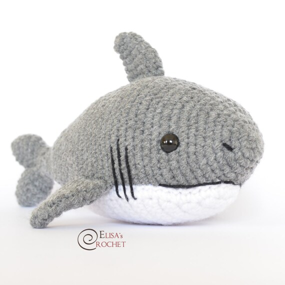 Amazon.com: Geekirumi! handmade crochet amigurumi shark stress ... | 570x570