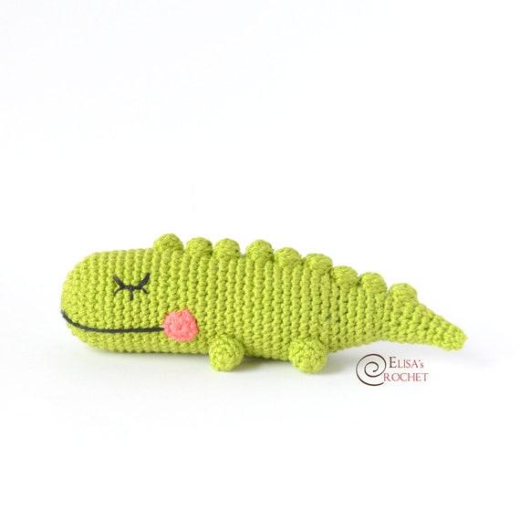 Itty Bitty Alligator Crochet Pattern - Craftfoxes   570x570