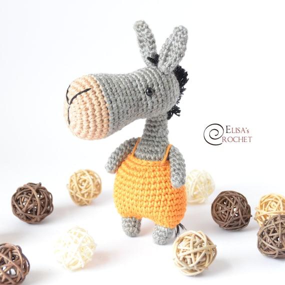 Pedro the Donkey amigurumi pattern - Amigurumipatterns.net | 570x570