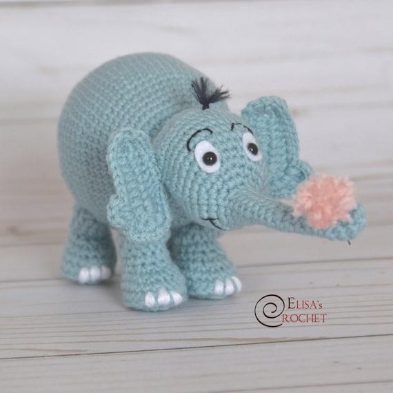 Amigurumi elephant tutorial toy pattern amigurumi doll   Etsy   570x570