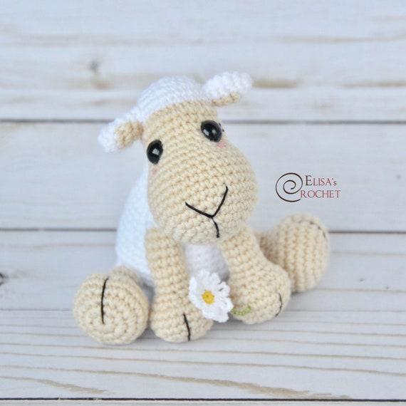 CROCHET PATTERN DAISY the Sheep Amigurumi doll / Stuffed   Etsy