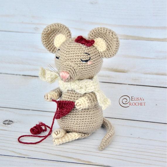 CROCHET PATTERN Sweet OLIVIA the Mouse Amigurumi doll /   Etsy