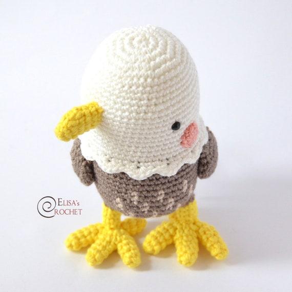 Crochet Eagle | beberouge | 570x570