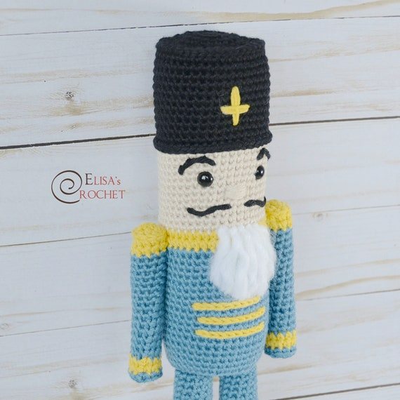 CROCHET PATTERN NUTCRACKER Amigurumi doll / Stuffed Doll / | Etsy