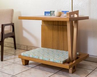 Modern Dog House Side Table - the Coachella