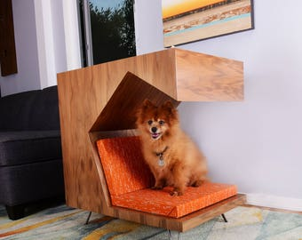 Modern Dog House Side Table - House and Home