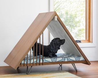 Modern Dog House Side Table - A FRAME