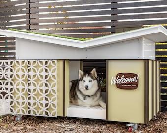Modern Dog House Butterfly House