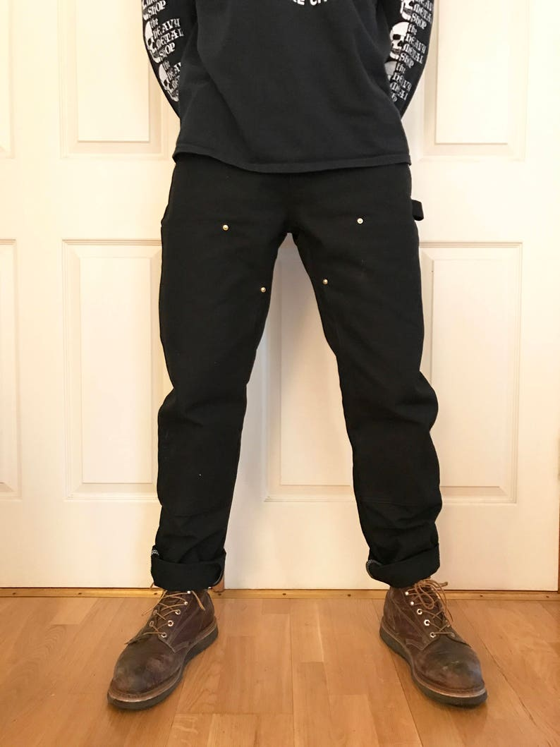 6d1a814d Custom Tailored Carhartt Double Front Work Pants | Etsy