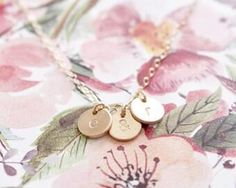 Mini Trio Charm Necklace