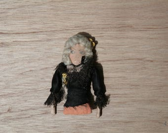 Vintage Collectible Gorgeous Delicate Art Doll