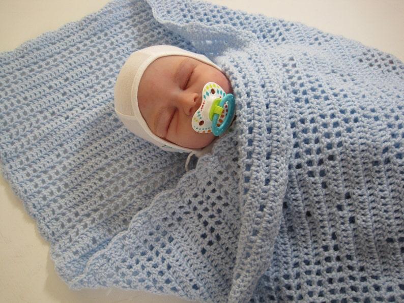 Baby Girl Crochet Baby Blanket Bear Newborn Baby Baby Afghan Baby Boy