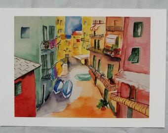 Fine Art Print Cinque Terre Italy
