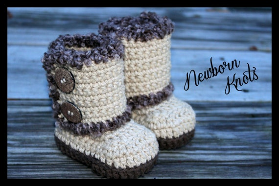Crochet Pattern Baby Booties Boys Or Girls Wrap Around Etsy