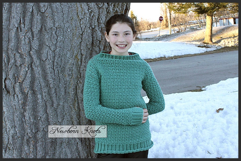 e856dd0f5 Crochet Pattern Sweater Apricity Pullover Sweater  Pattern