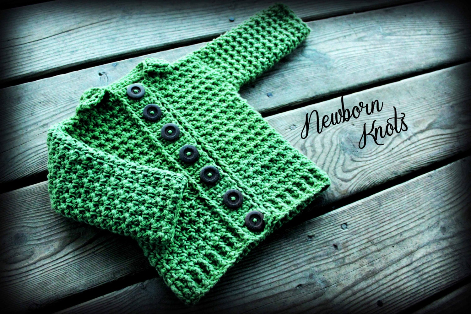 be1ccdcd7ac1 Crochet Baby Sweater Pattern Baby Boy or Girl Ribbed Collar