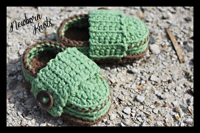 59e02a9697e55 Crochet Baby Shoes Pattern - Baby Boy or Girl Wide Strap Booties/ Pattern  number 022. Instant PDF Download - Includes 3 sizes up to 1 year.