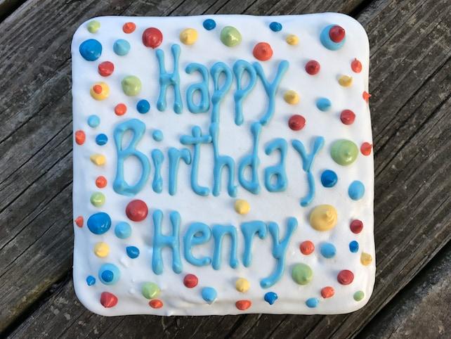 Dog Birthday Cakehomemade Gourmet Soft Birthday Cake For Etsy