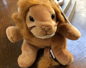 Ty Beanie Baby Style 4069 Brown Roary Lion Retired DOB February 20 1996 for sale online