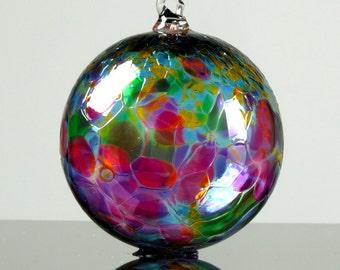 Blown glass ornament | Etsy