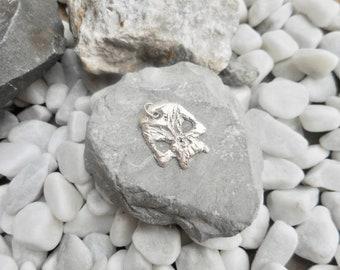 Echt zilveren schedel hanger bedel stoere heren dames sieraad handgemaakte unieke sieraden one of a kind handgesmeed fantasie