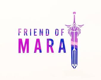Friend of Mara - Holographic Vinyl Decal