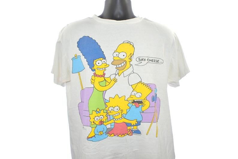 1989 The SIMPSONS Vintage Marge  Homer  Bart  Lisa  Maggie image 0