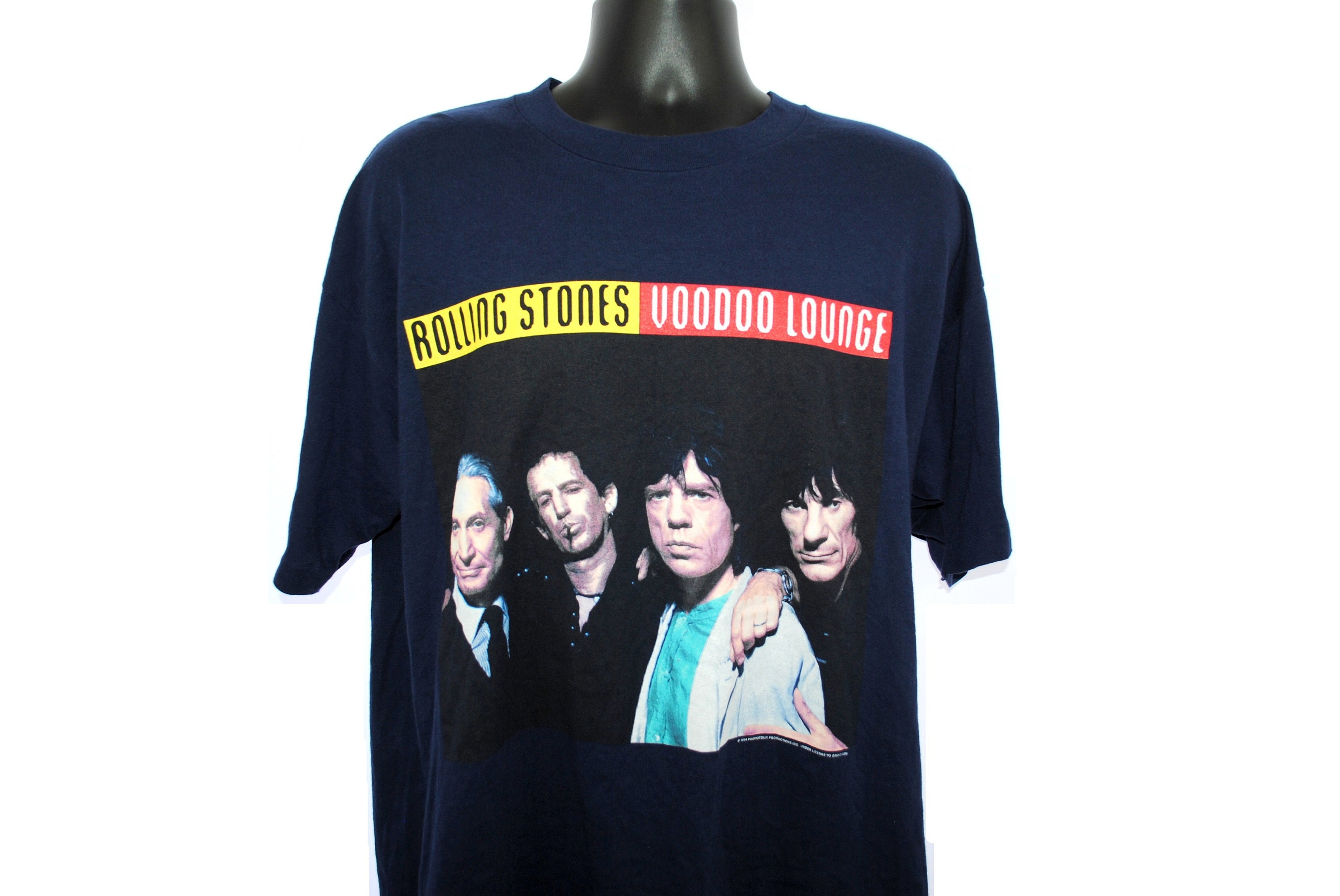 1994 Rolling Stones Vintage Love Is Strong Era 90s Brockum Brand Budweiser Voodoo Lounge Tour 94 95 Classic Rock Band Concert T Shirt