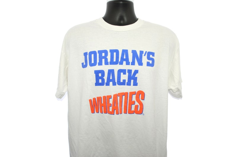 5bf1fe12971 1995 Jordan's Back Vintage Chicago Bulls 45 Era Michael | Etsy