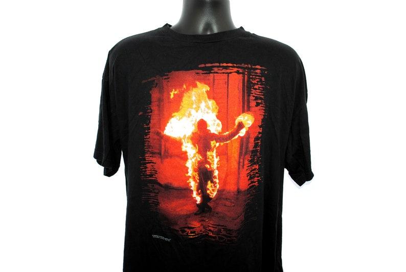 1998 Rammstein Vintage Sehnsucht Era Du Hast Music Video Promo Classic 90s  German Goth Industrial Nu Metal Rock Band Concert Tour T-Shirt
