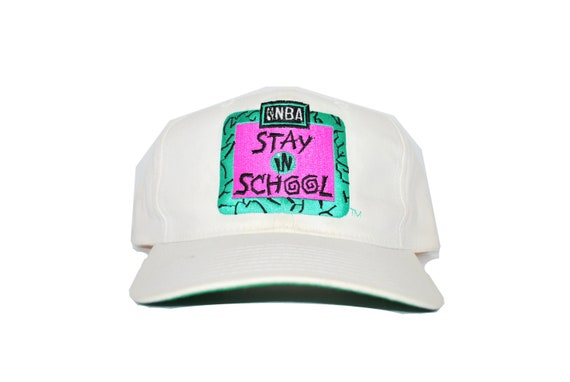 1992 NBA Stay In School Vintage National Basketball  c00c89c1e68c