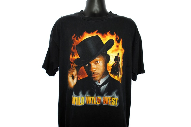 1999 Wild Wild West Vintage Will Smith as James West Cult image 0