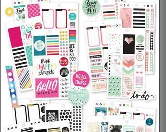 Planner Accessories Big Happy Planner Sticker Value Packs