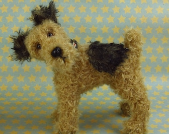 Airedale Toy Etsy