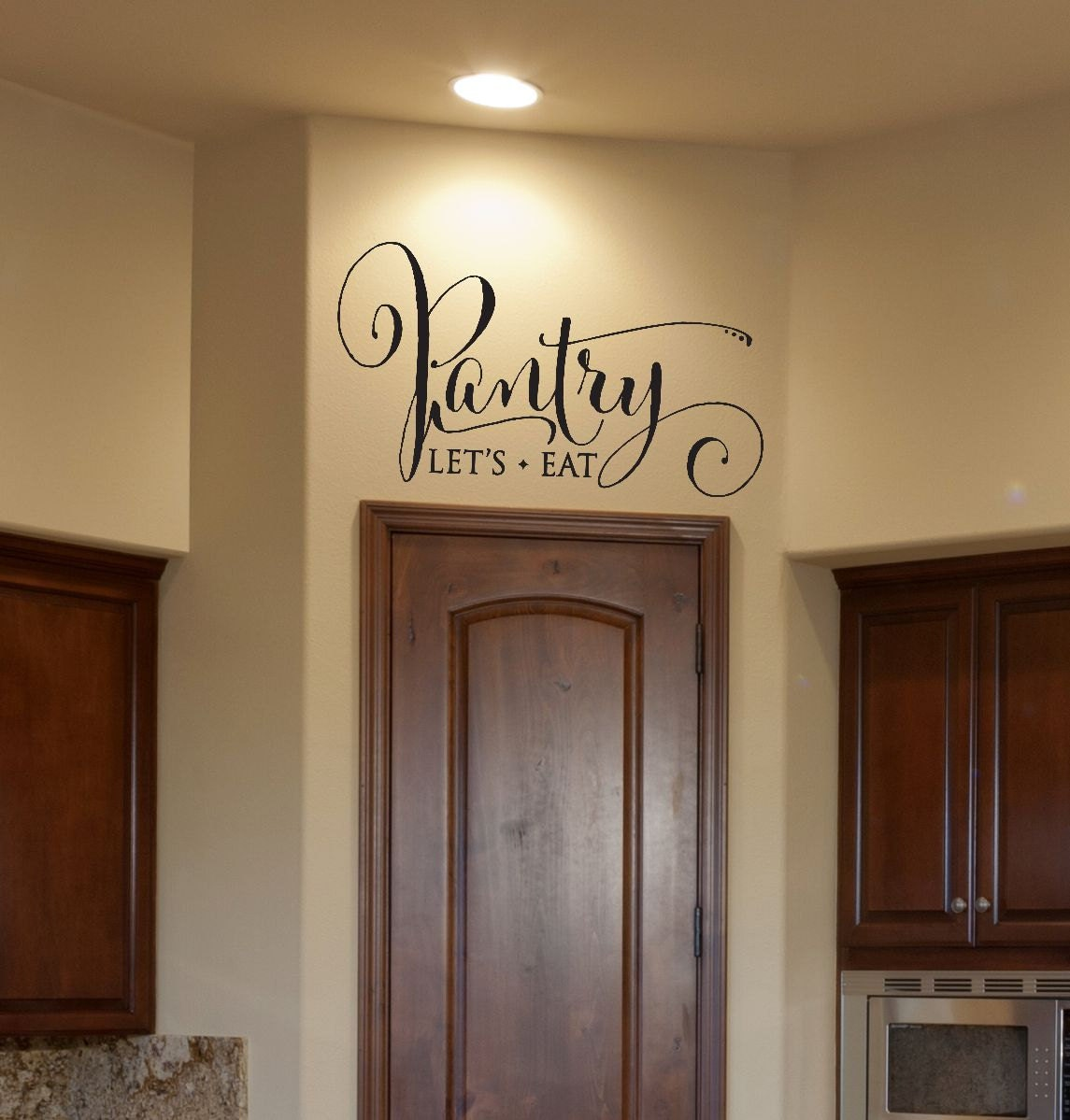 Kitchen Wall Vinyl: Kitchen Decor Pantry Decal Pantry Sign Pantry Wall Decal
