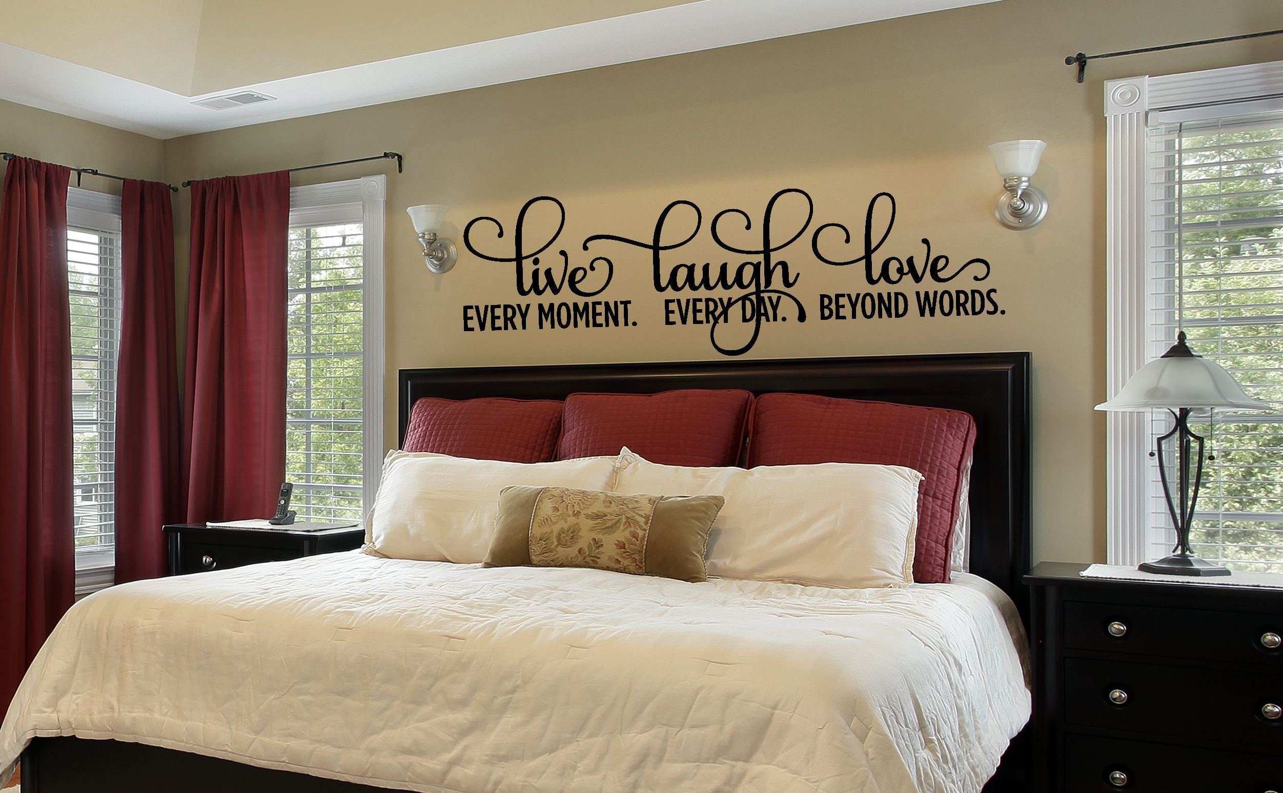 bedroom decor bedroom wall decal master bedroom wall decal 17739 | il fullxfull 1451969838 2nw2