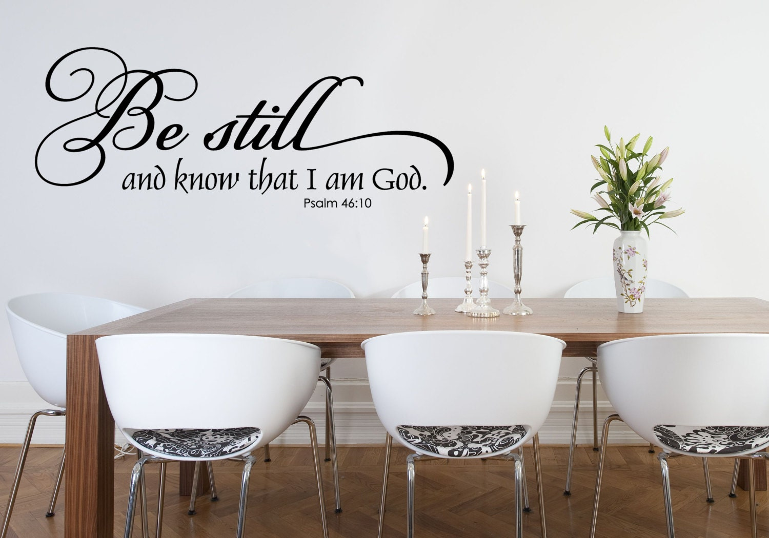 Christian Wall Decal Family Wall Decal Scripture Wall Etsy