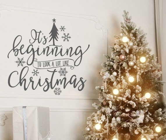 image 0 - Christmas Wall Decal